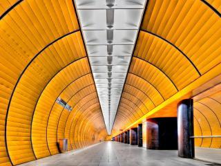 обои для рабочего стола: Футуристическое метро