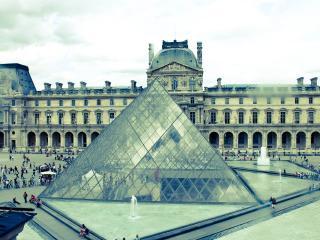 обои для рабочего стола: Вид на пирамиду