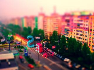 обои Вид на город фото