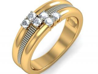 обои Золотое кольцо с бриллиантом фото