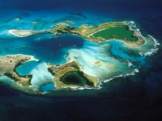 обои Архипелаг Лос Рокес в Карибском море фото