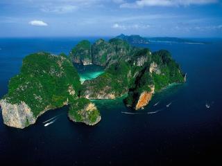 обои Остров Phi Phi Le,   Таиланд фото