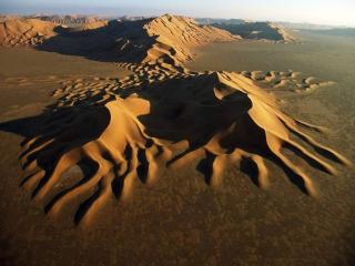 обои для рабочего стола: Дюны пустыни Руб-эль-Хали
