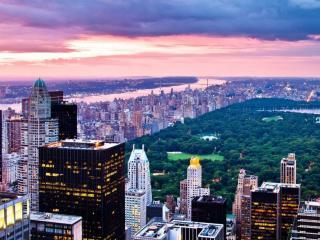 обои Вечер в Нью Йорке фото