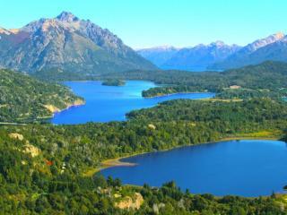 обои Озёра горы Campanaro,   Барилоче,   Аргентина фото