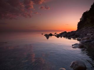 обои Карельские закаты фото