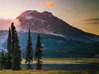 обои Горные вершины фото