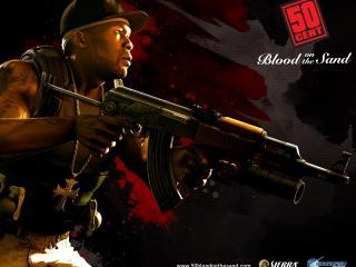 обои 50 Cent (Blood on the sand) фото