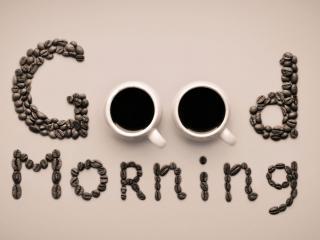 обои Добрый день с кофе фото