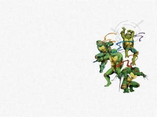 обои Черепашки -ниндзя фото