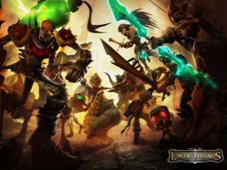 обои League of Legends фото