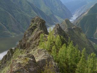 обои Саянские горы фото
