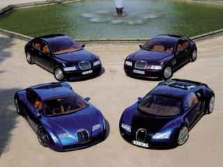 обои Семья Bugatti фото