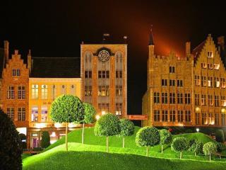 обои Улица ночного города. Германия фото