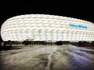 обои Мюнхен Allianz arena фото