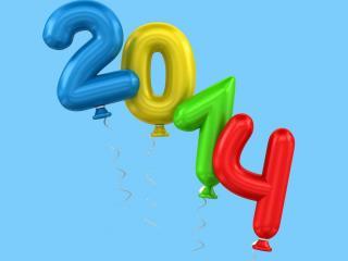 обои Воздушные шарики 2014 год фото