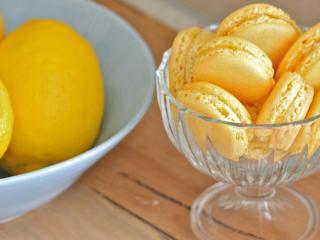 обои Лимоны и лимонное печенье фото