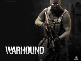 обои Warhound - человек в маске фото