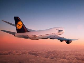 обои Авиакомпания Lufthansa в России фото