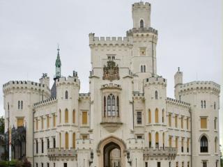 обои Замок Глубока-над-Влтавой. Чехия фото