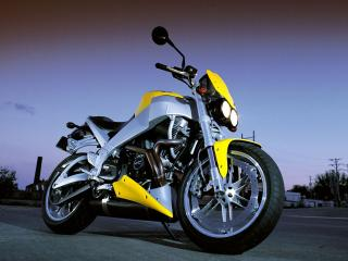 обои Желтый Buell Lightning XB9S фото