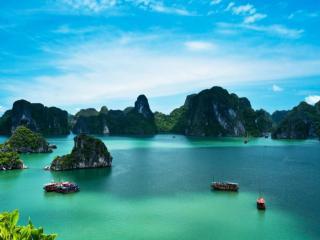 обои Бухта Халонг. Вьетнам фото