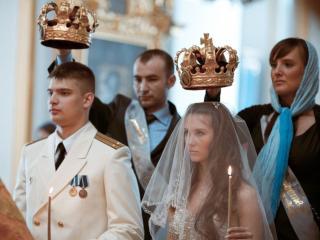 обои Венчание в Церкви фото