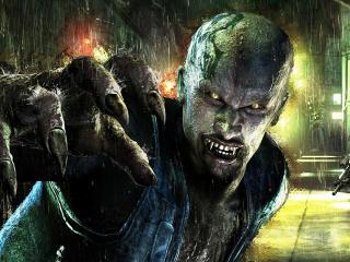 обои Зомби под дождем фото