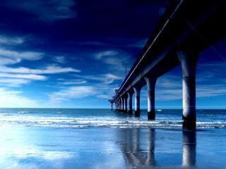 обои Огромный мост в никуда фото