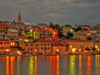 обои Вечерняя Хорватия фото