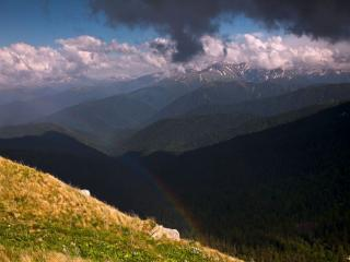 обои Горная радуга фото