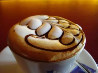 обои Кофе с рисунком фото