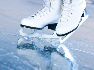 обои Лёд и коньки фото