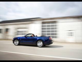 обои Ford - Mustang синий фото