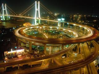 обои Китай. Мост в Шанхае фото