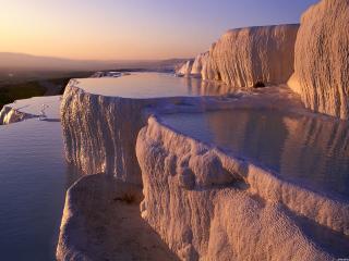 обои Причудливые водоемы,   Турция фото