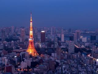 обои Телевизионная башня Токио фото