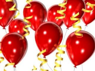 обои для рабочего стола: Воздушные праздничные шары