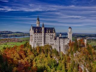 обои Одинокий замок фото