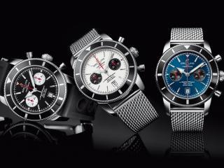 обои для рабочего стола: Часы фирмы Breitling