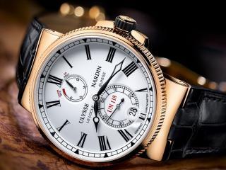 обои для рабочего стола: Часы фирмы Ulysse Nardin