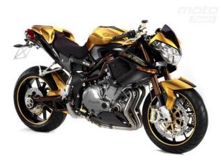 обои Мотоцикл с жёлтым фото