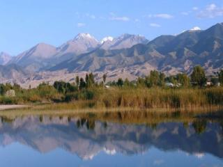 обои Иссык-Куль,   Кыргызстан фото