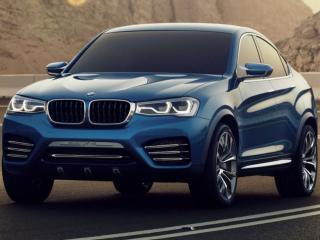 обои Купе-кроссовер BMW X4 фото