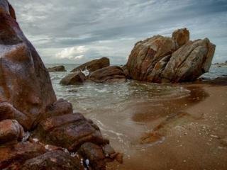 обои Море и скалы фото