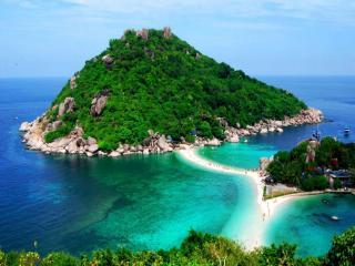обои Остров Nang Yuan. Таиланд фото