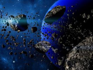 обои Метеоритный поток фото