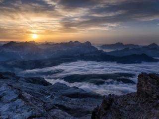 обои Горы северной Италии фото