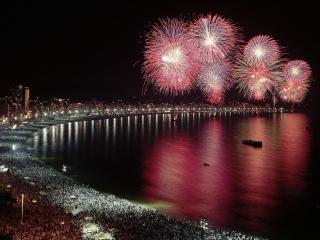 обои Новогодний Гонконг фото