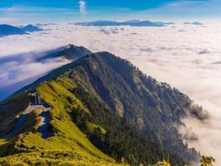 обои Горы Тайваня фото